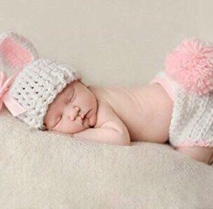 шапка из шерсти мериноса для младенца - из толстой шерсти